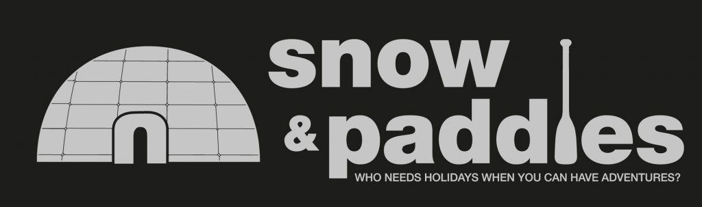 Snow and Paddles logo