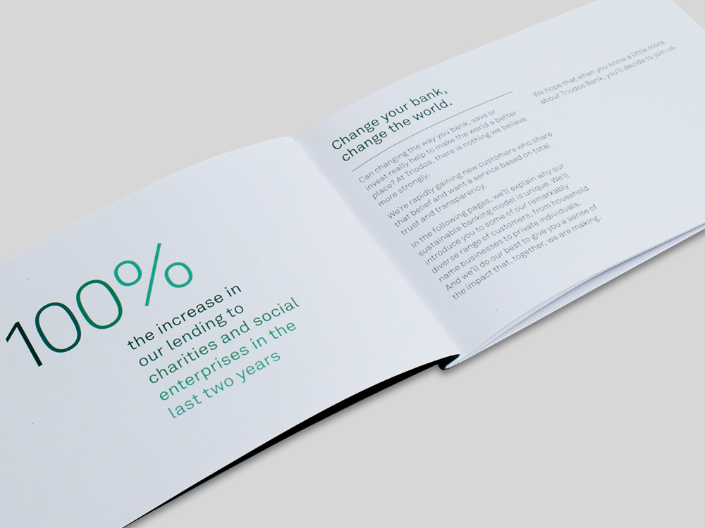 Triodos Bank Annual report pages