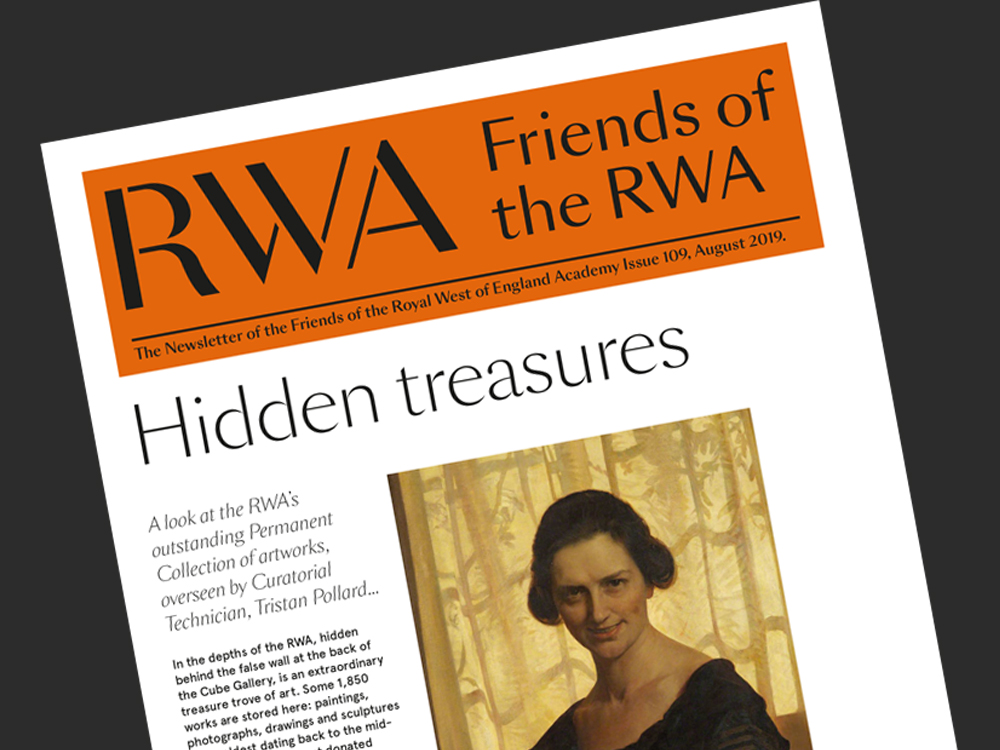 Friends of the RWA Newsletter cover