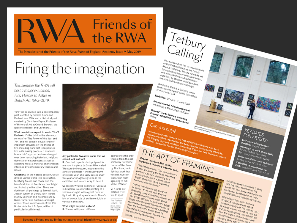 Friends of the RWA Newsletter  pages
